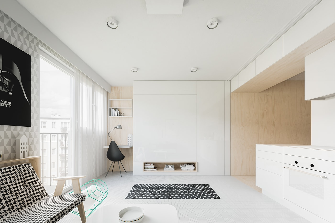 Am Nager Un Appartement De 60m2 Avec Un Style Scandinave