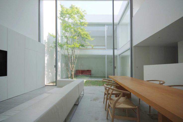 16 idées pour aménager une petite cour intérieure minimaliste