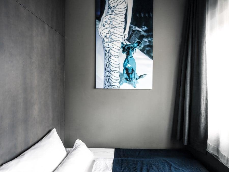 Tableau chambre hotel