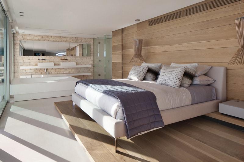 Id e d co chambre avec du bois for Idee deco maison design