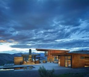 Maison contemporaine montagne