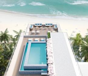 Penthouse piscine rooftop