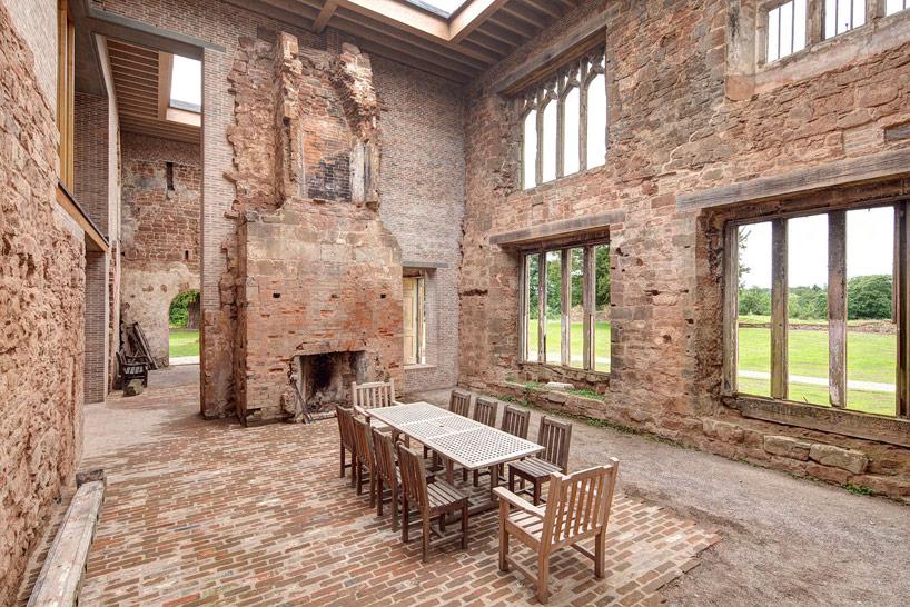 Restauration salle à manger château