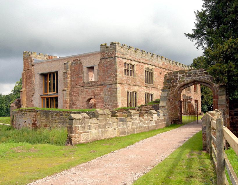 Transformation château maison moderne