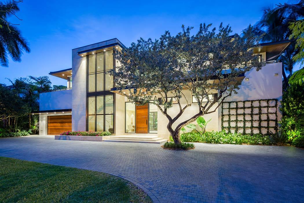 Maison de luxe en bordure d 39 oc an miami beach - Residence principale de luxe kobi karp ...