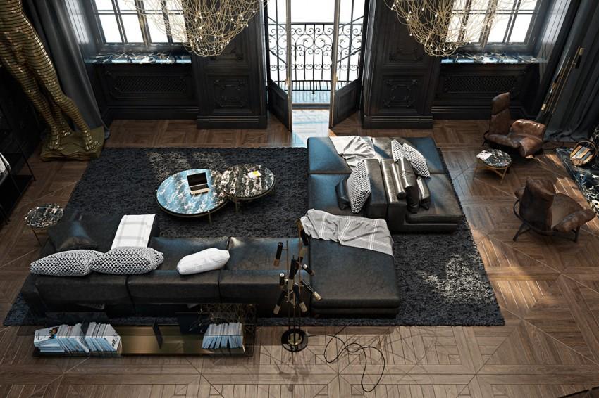 Appartement parisien sophistique