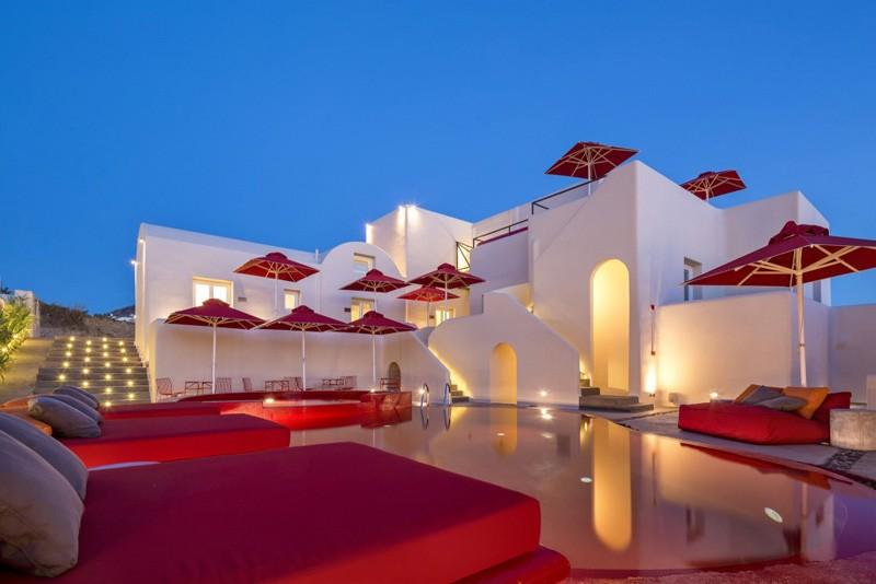 Art hotel santorin