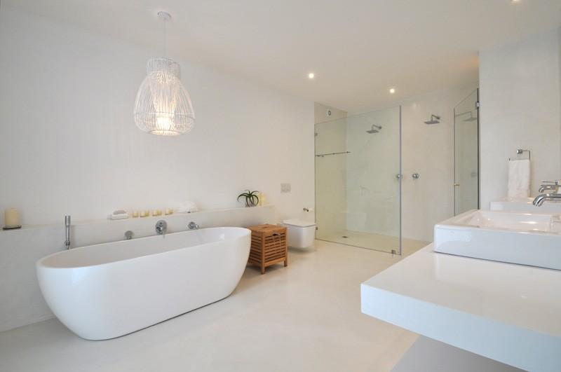 salle bain baignoire double douche. Black Bedroom Furniture Sets. Home Design Ideas