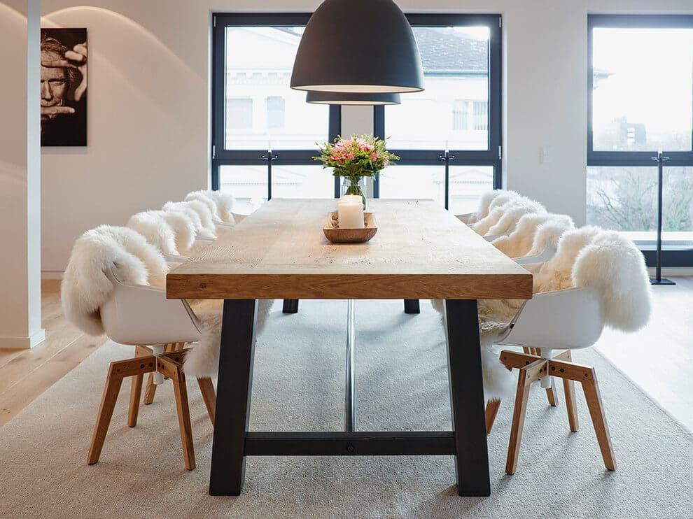 Id es pour d corer un appartement sobre et chaleureux for Sale da pranzo moderne 12