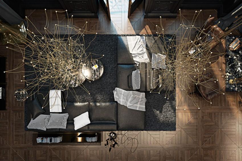 appartement haut plafond