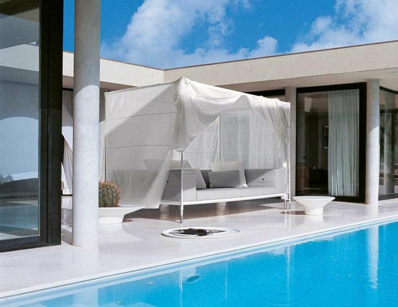 lit piscine