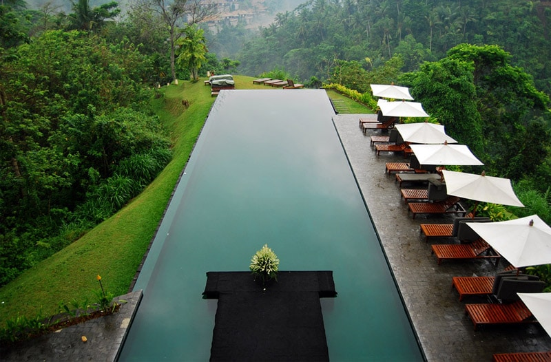 Beautiful hillside resort Bali