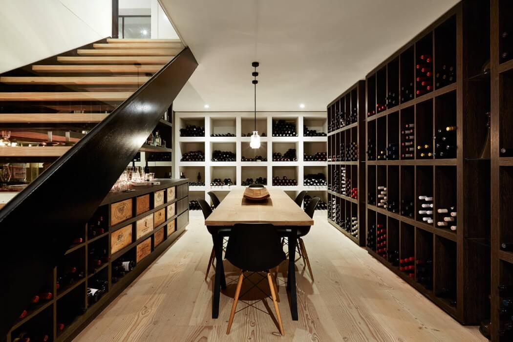 Cave à vin contemporaine