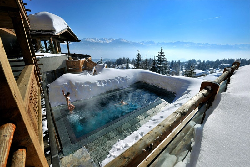 Hotel spa courchevel