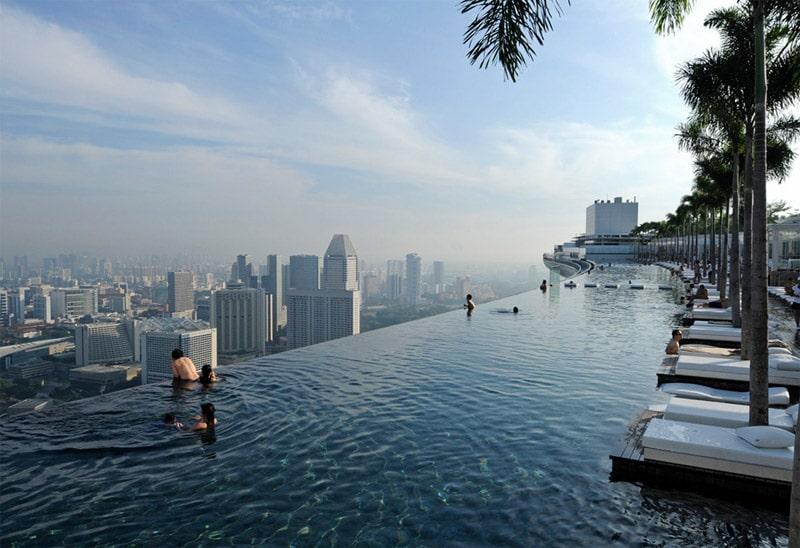 Piscine singapores sky park