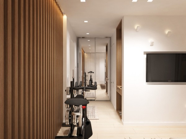 coin fitness appartement