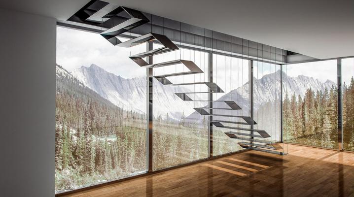 25 idées d\'escaliers muraux design pour votre intérieur