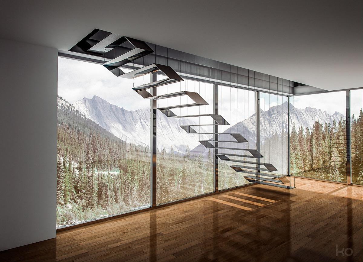 Triangular Floor Plan 25 Id 233 Es D Escaliers Muraux Design Pour Votre Int 233 Rieur
