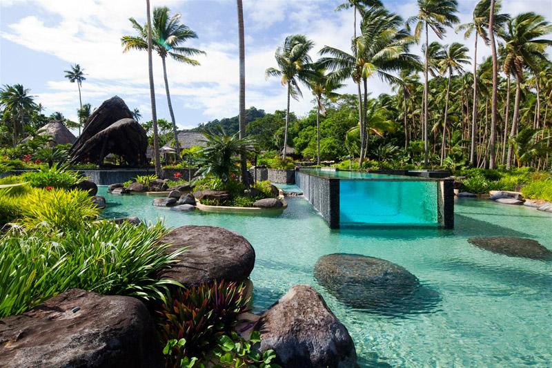 piscine Laucala Fidji