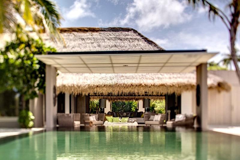 piscine hotel cheval blanc Maldives