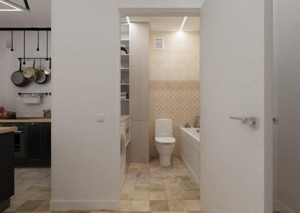 salle de bain petit appartement