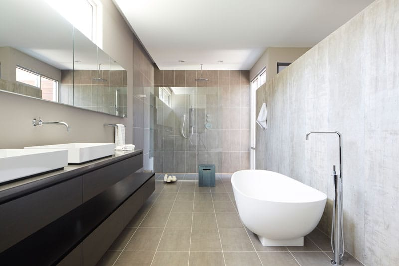 Salle de bain contemporaine for Articles salle de bain design