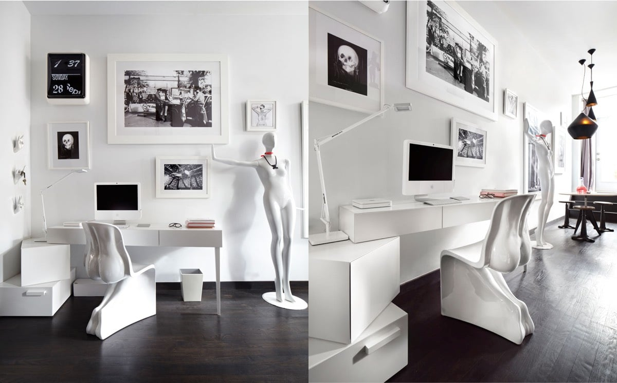 20 id es pour agencer et d corer un bureau. Black Bedroom Furniture Sets. Home Design Ideas