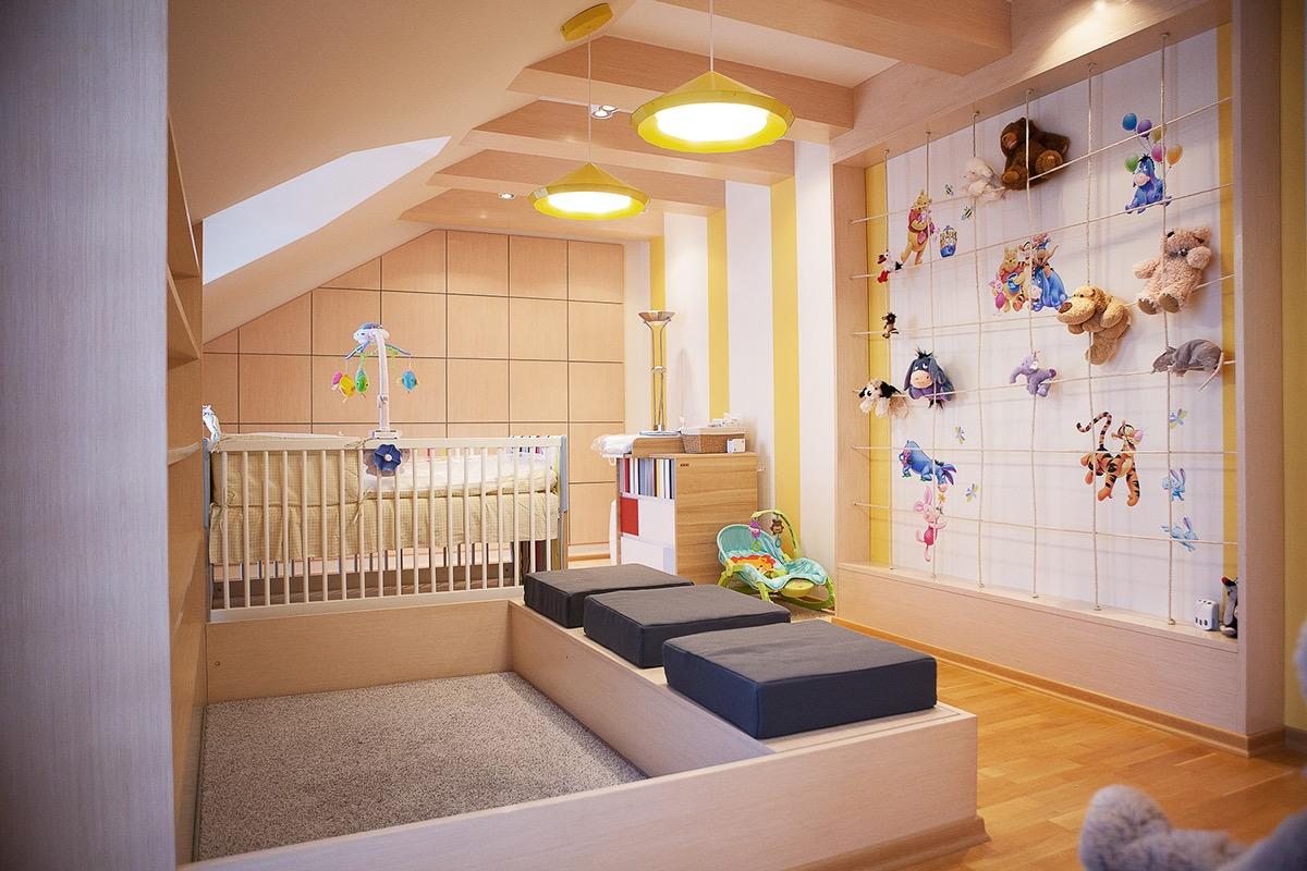 15 id es pour d corer les murs d 39 une chambre d 39 enfant. Black Bedroom Furniture Sets. Home Design Ideas