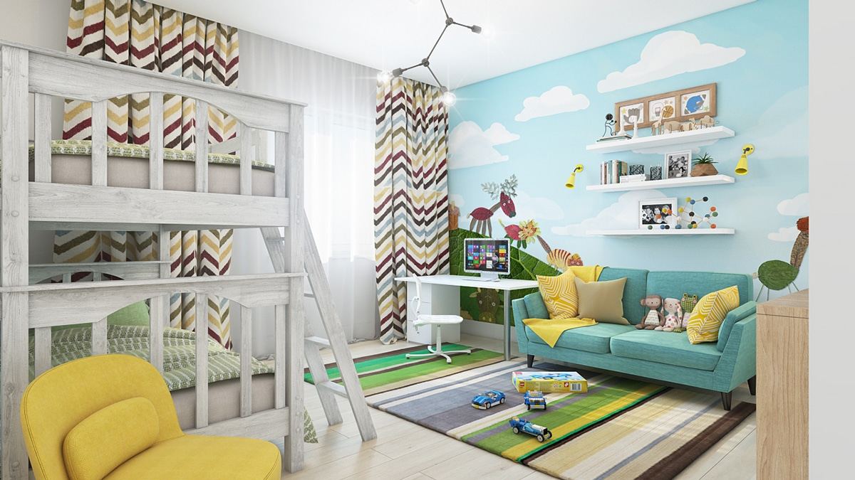 15 id es pour d corer les murs d 39 une chambre d 39 enfant - Idees deco chambre enfant ...