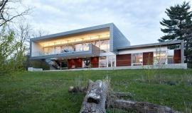 maison design bardage aluminium