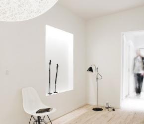 Parquet bois clair minimaliste