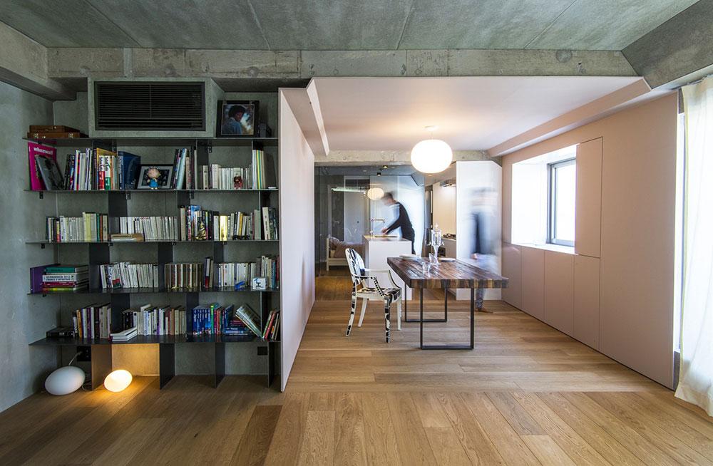 Appartement en longueur