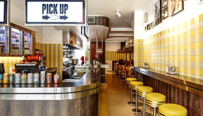 Idées de décoration diner américain vintage