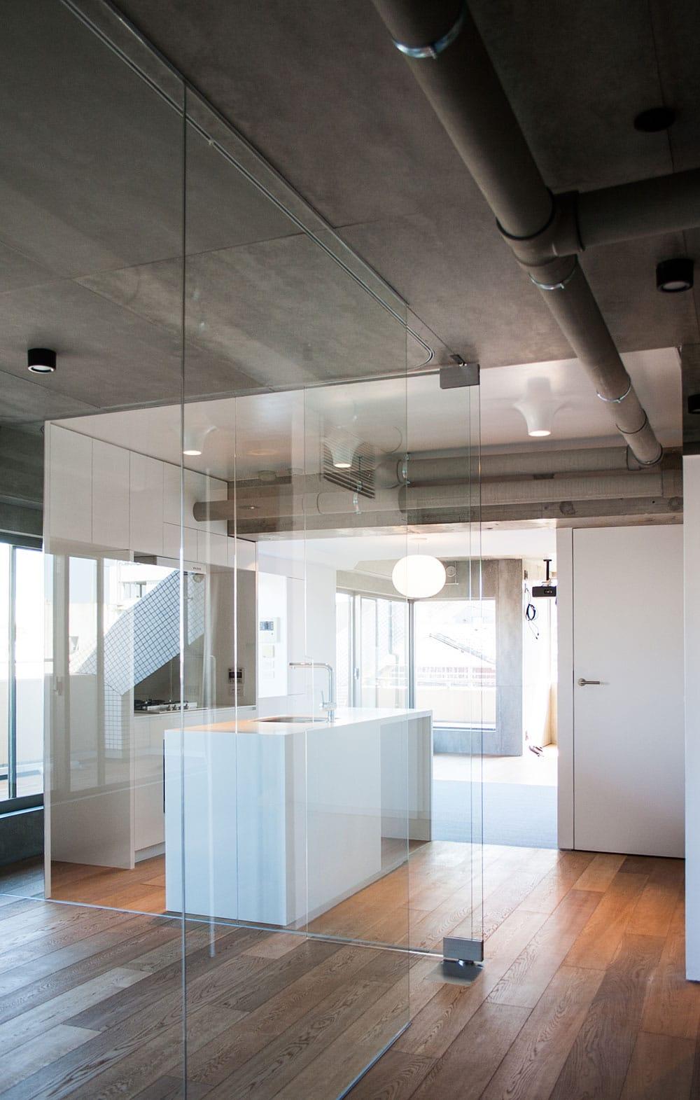 Murs-de-verre-appartement