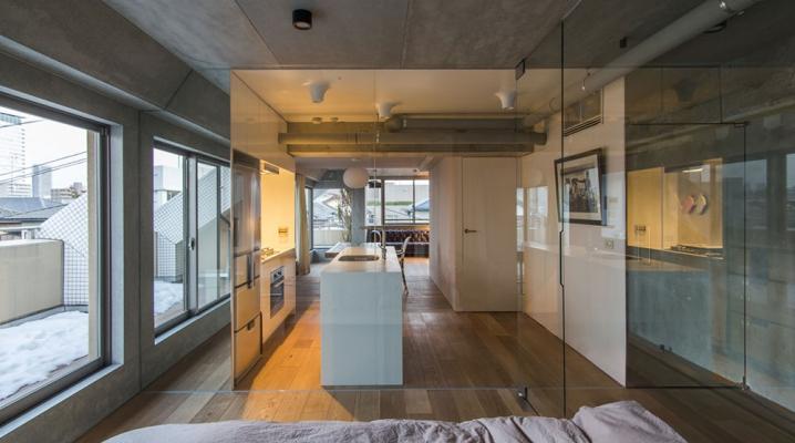 Cloison vitrée appartement