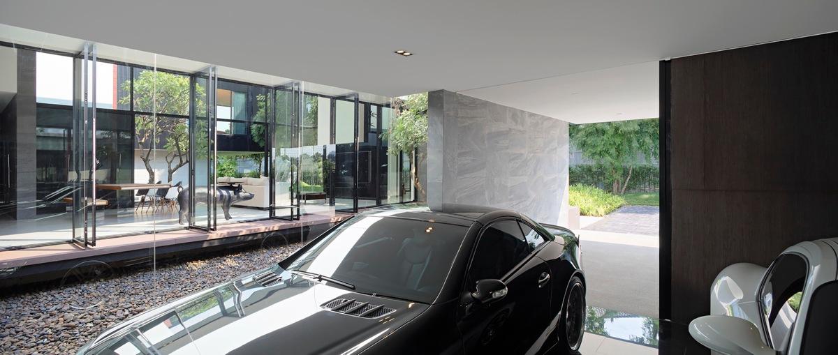 Maison contemporaine au style japonais - Maison contemporaine de luxe ...