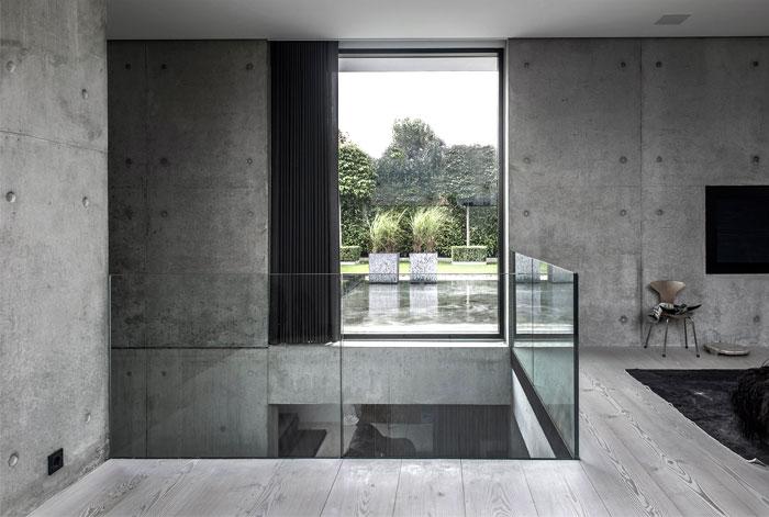 maison moderne scandinave sur 4 niveaux. Black Bedroom Furniture Sets. Home Design Ideas