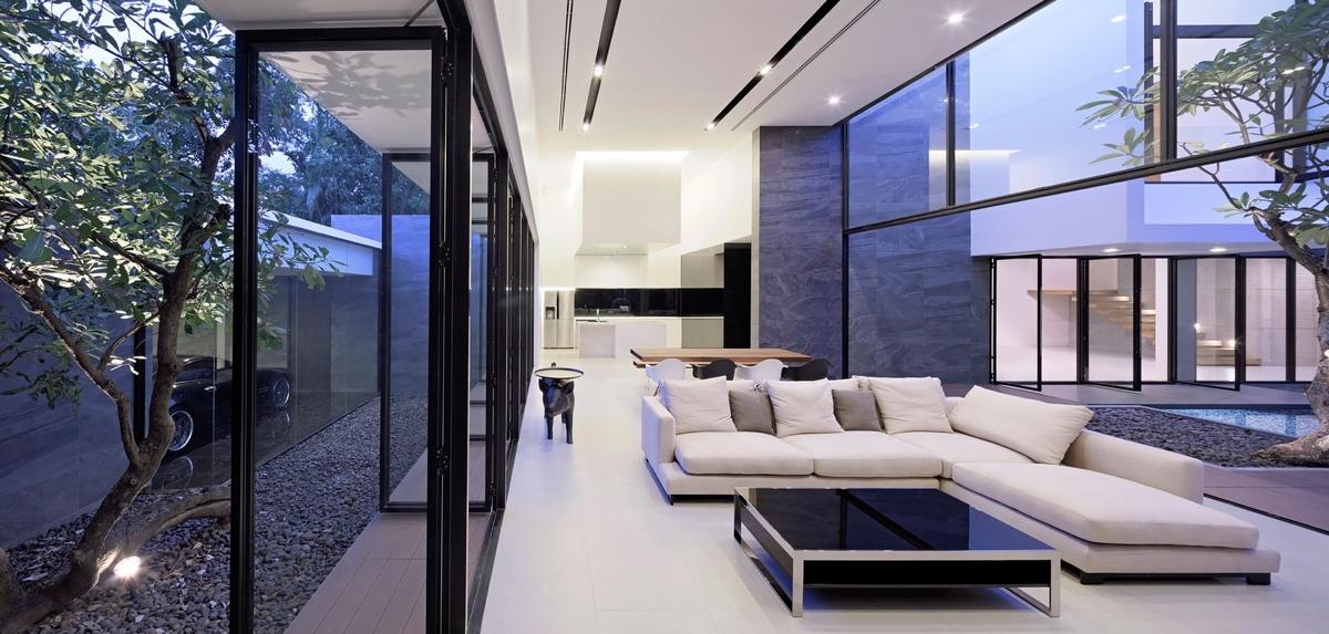 Maison contemporaine japonaise for Architecture japonaise contemporaine