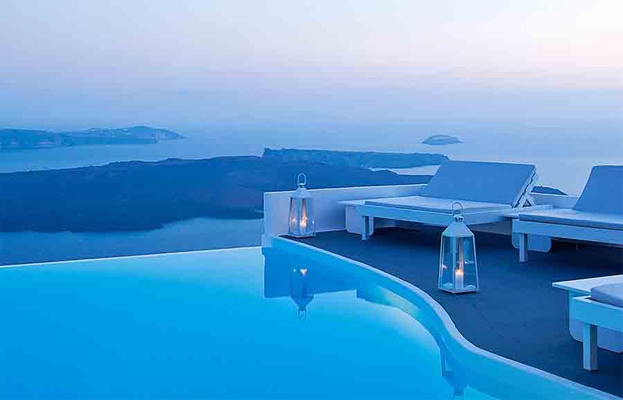Hotel De Luxe A Santorin
