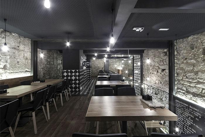 Id es pour d corer et am nager un bar vin - Decoration restaurant bar moderne australie ...