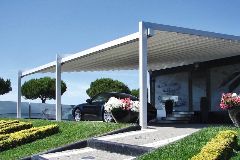 pergola garage voiture