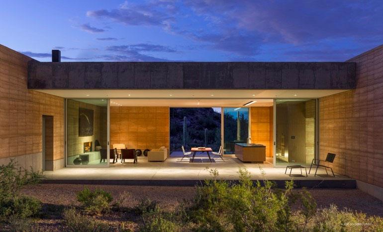 terrasse maison architecte