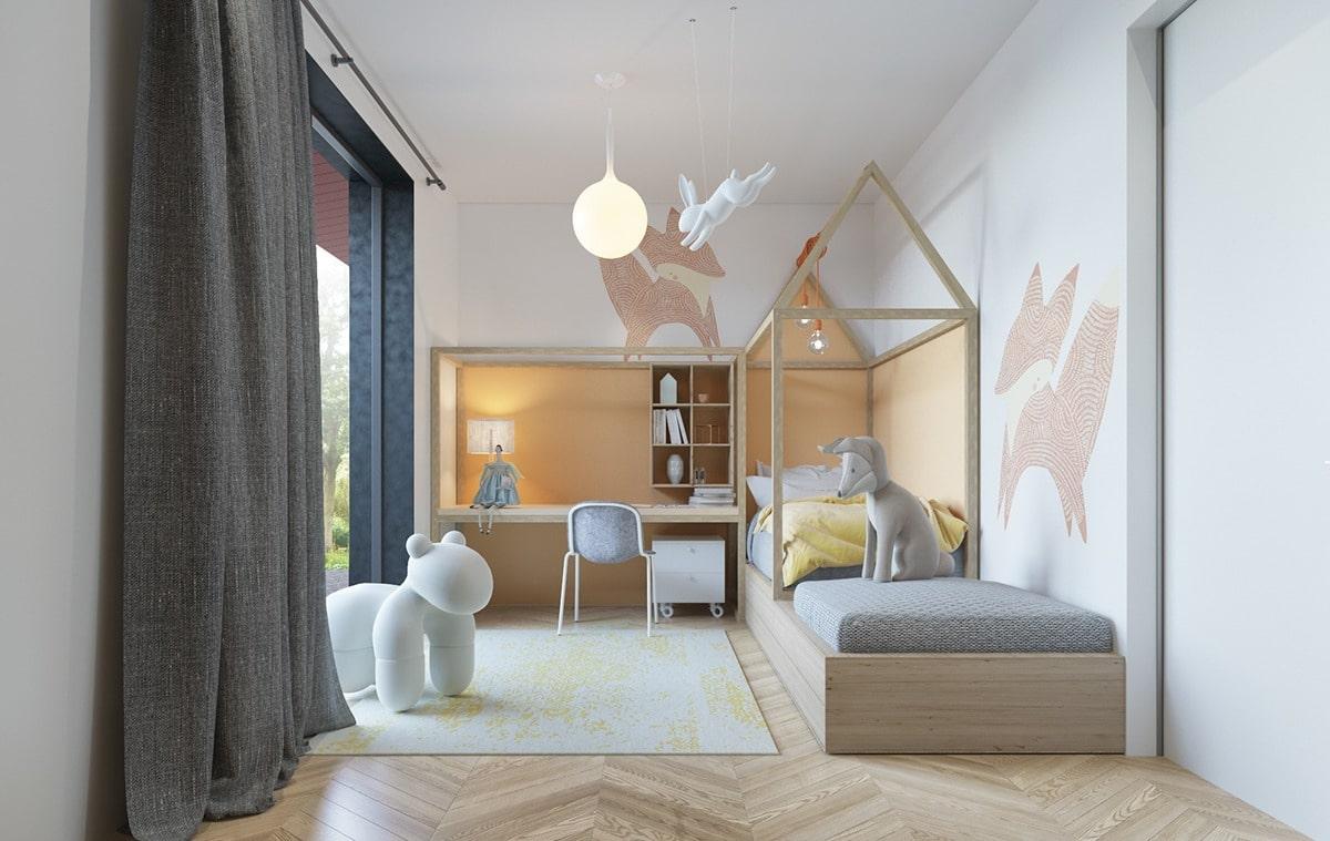 D coration intemporelle pour une chambre d 39 enfants for Deco chambre moderne design