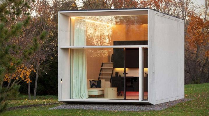 Maison Préfabriquées koda : une maison contemporaine préfabriquée montée en 7h