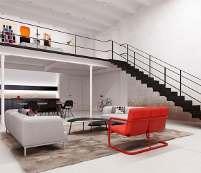 Id es d coration loft am nagement loft inspirations - Deco maison appartement en duplex widawscy ...