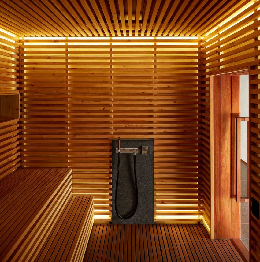 sauna pour maison perfect container ephmre inventer la maison de demain de leroy merlin with. Black Bedroom Furniture Sets. Home Design Ideas