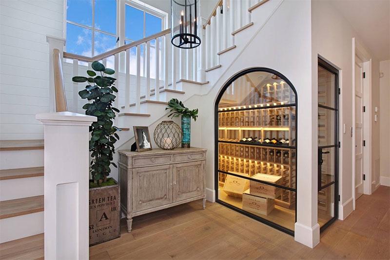 20 id es de rangement pour vos bouteilles de vin. Black Bedroom Furniture Sets. Home Design Ideas