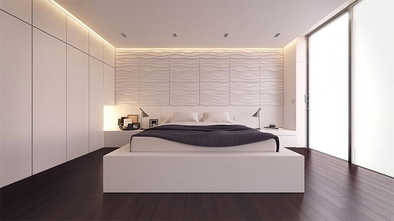 20 id es pour d corer une chambre avec des couleurs neutres. Black Bedroom Furniture Sets. Home Design Ideas