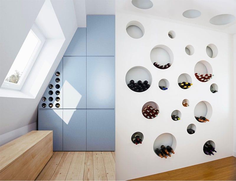 20 Idées de rangement pour vos bouteilles de vin