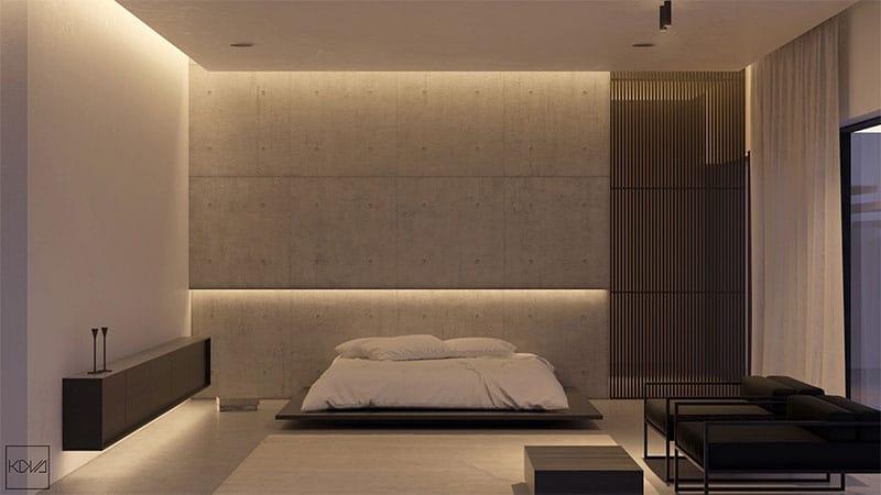 chambre-minimaliste-monochrome